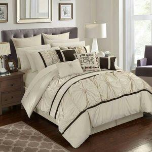 16 pieces comforter set
